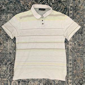 Men's Calvin Klein Striped Polo